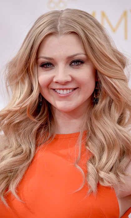 'Game of Thrones' star Natalie Dormer let her blond hair run wild this year and we like! Joffrey's widow kept her lips nude and her lashes luxe. © Getty