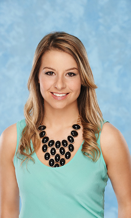 Raelee, 26 (gymnast/art director), from Calgary (**Winner of the 'Canada's Choice' bachelorette contest)