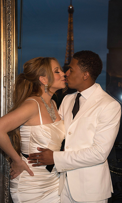 "MARIAH CAREY AND NICK CANNON:  A week after reports of a secret wedding first surfaced, Mariah confirmed that she had indeed become Mrs. Nick Cannon on April 30, 2008. The groom, she revealed, had proposed on the rooftop of her New York apartment just five days before the wedding. The couple got hitched at Mariah's Bahamian estate in a surprise sunset ceremony following their whirlwind two-month romance. ""We really do feel we are soul mates,"" the bride said. ""I never felt a love like this was on the cards for me."" It was one of the first secret and shocking celebrity weddings – but certainly not the last! And in true diva style, Mariah had her 5-year vow renewal with Nick at Disneyland (pictured) in Feb. 2012, she dressed as Cindarella and her man as Prince Charming - plus 10,000 crystals decorating the reception room."