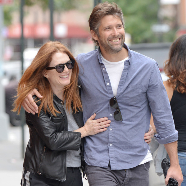 Julianne Moore Gazes Adoringly At Her Husband Of 20 Years