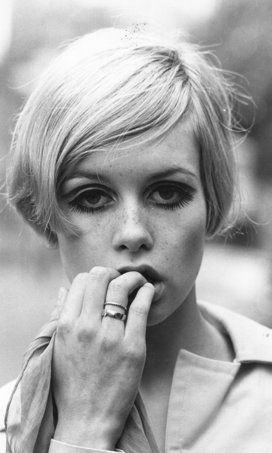 1966: In 1966, Twiggy was named the face of the year by the 'Daily Express.' (Image: Hulton Archive)