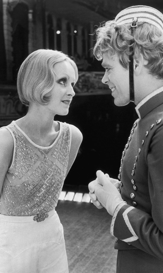 1971: While known for being a model from the Youthquake era, Twiggy was also a singer and actress. Here she is performing a scene with Christopher Gable from the film 'The Boy Friend' by Ken Russell. (Image: MGM Studios/Getty Images)
