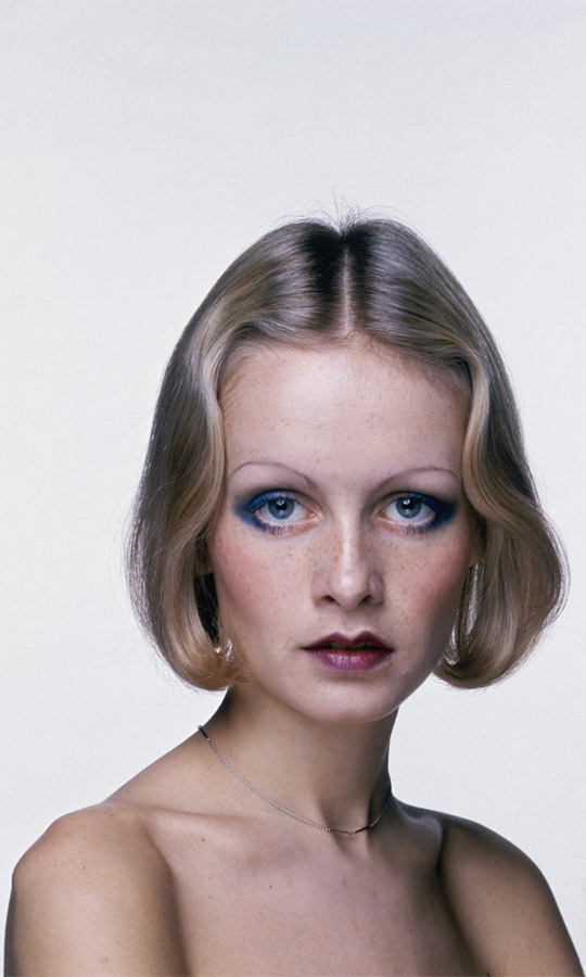 1970: The British bombshell wore her hair in an elegantly waved bob in this promotional shot for Ken Russell's film, 'The Boy Friend,' in which she played a leading role. (Image: Hulton Archive)