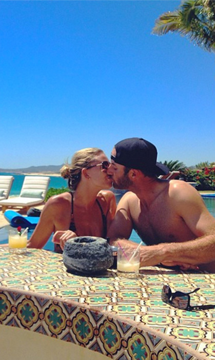 This was their first vacation together — but certainly not their last!