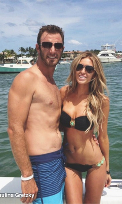 Paulina showed off her trim figure – and her handsome beau – while on vacation to Peanut Island in Florida.
