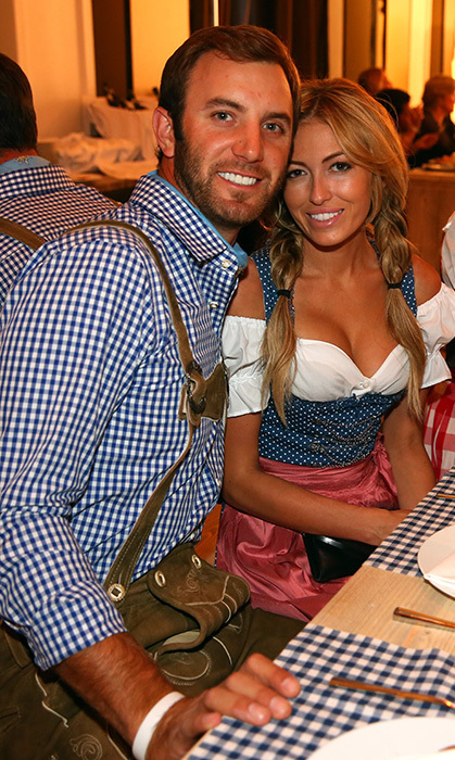 They were cute as can be in traditional Bavarian costumes – complete with overalls for Dustin and pigtails for Paulina!