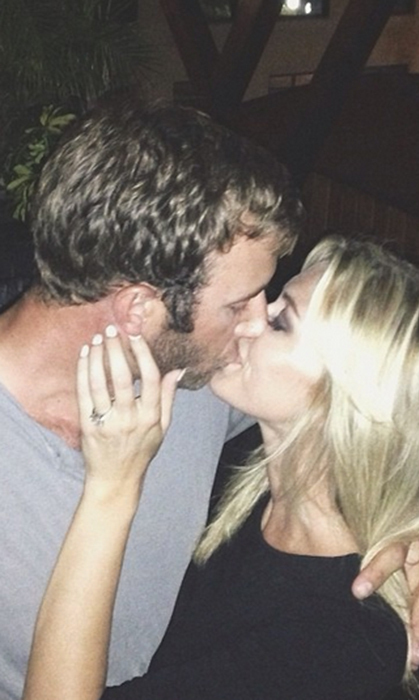 They're engaged! Paulina confirmed the news with this sweet snap, which clearly shows her diamond sparkler.