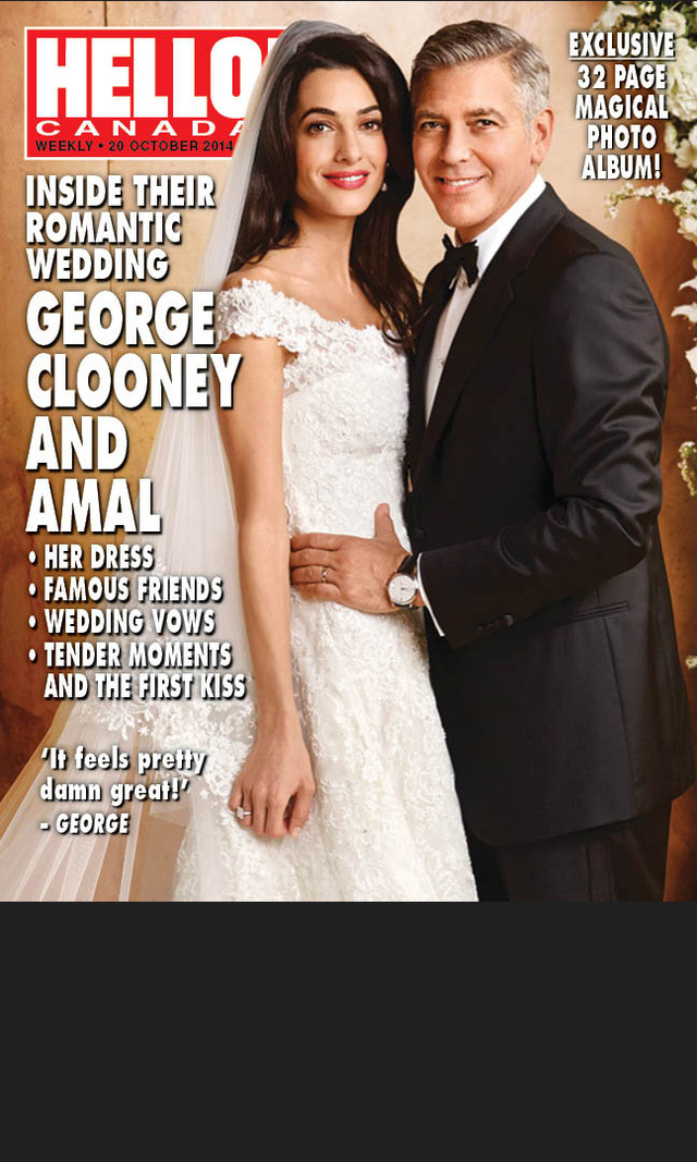 celebrities best moments from george clooney amal alamuddin wedding weekend