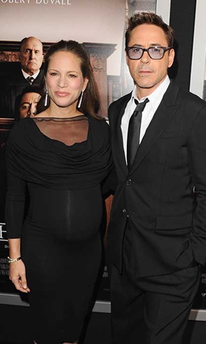 Robert Downey Jr Wife Pregnant