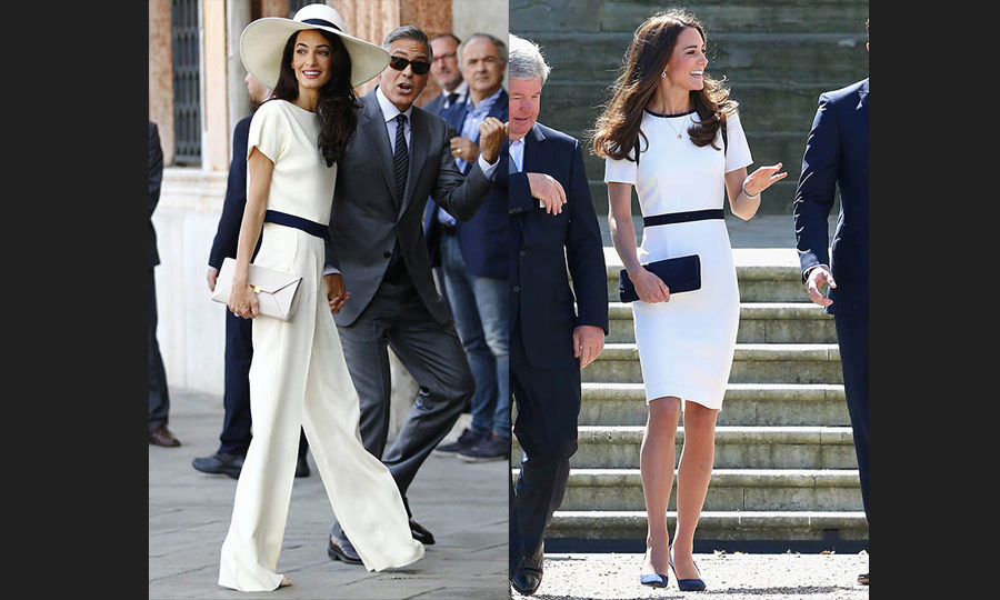 Style Twins Kate Middleton And Amal Alamuddin Take On 7
